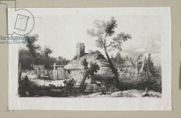 Landscape with Village, 1778