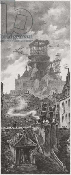 La Construction du Sacré-Cour, c. 1910