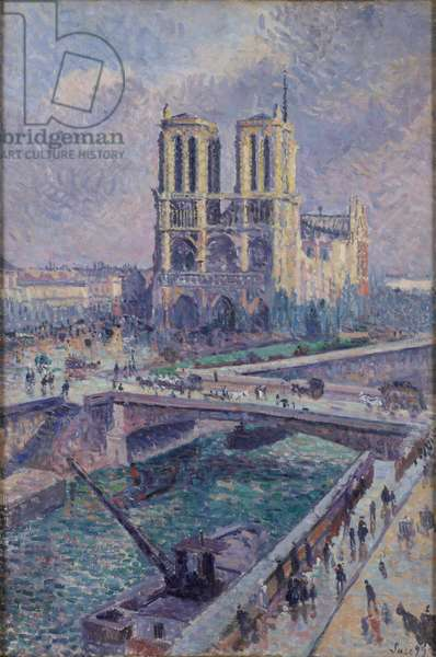 Notre Dame, 1899 (oil on canvas)