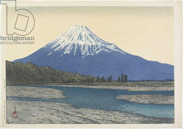 Fuji River, February 1933