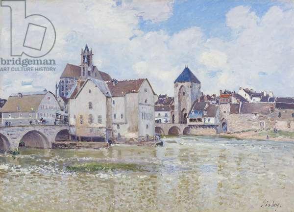 Le Pont de Moret, 1888 (oil on canvas)
