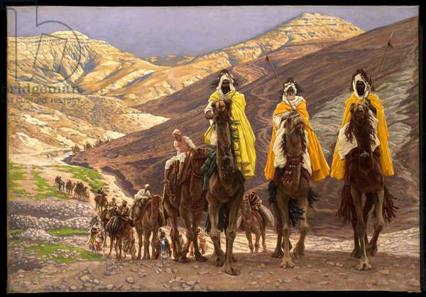 Journey of the Magi, c.1894 (oil on canvas)