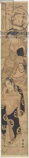 "(Scene from the Play ""Yoshitsune senbon zakura""), late 18th-early 19th century"