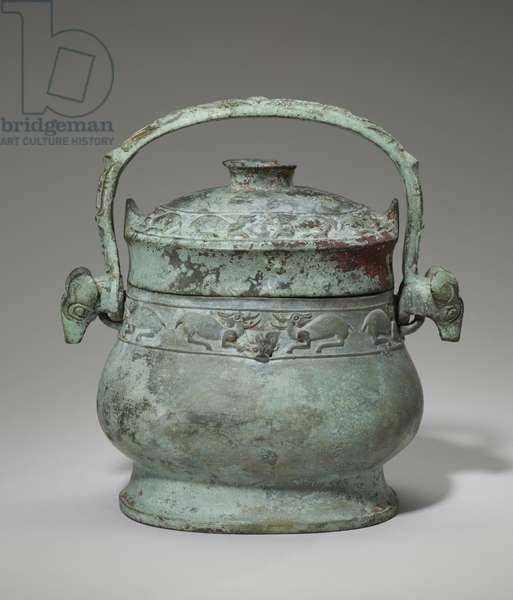 'Lei' wine vessel, 11th century BC (bronze)