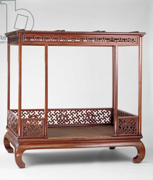 Six-Post Canopy Bed, Ming Dynasty (wood)