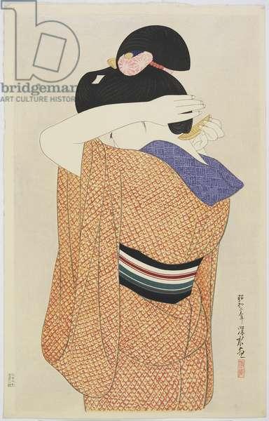 Woman in a Long Undergarment, 1927