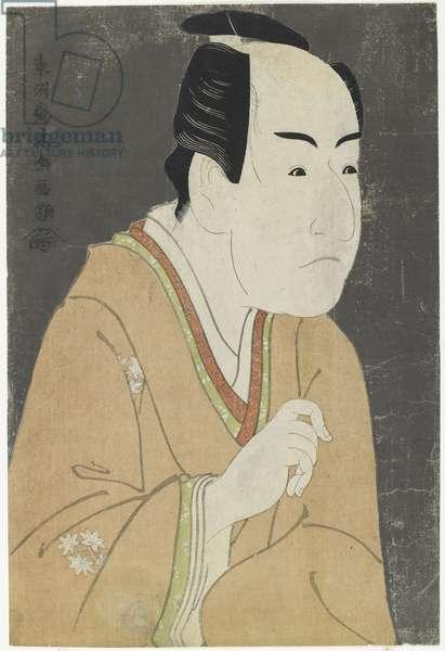 Ichikawa Monnosuke II as Date no Yosaku, May 1794