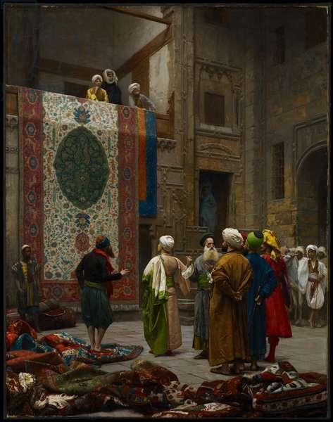 The Carpet Merchant, c.1887 (oil on canvas)