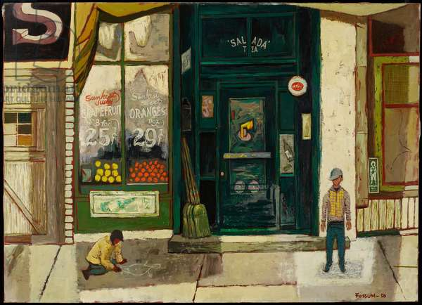 Store Front, 1950 (oil on canvas)