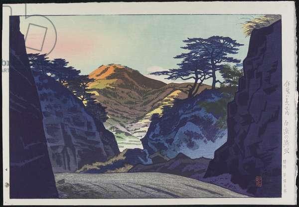 Afterglow at Shirahama, 1938