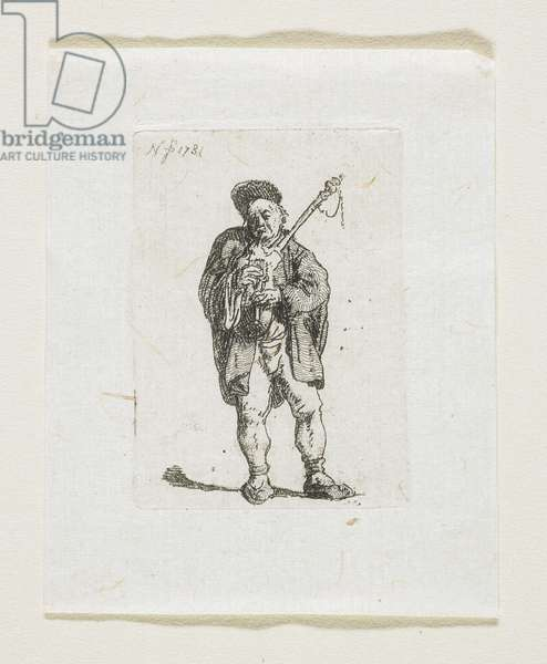 The Small Bagpiper, 1781