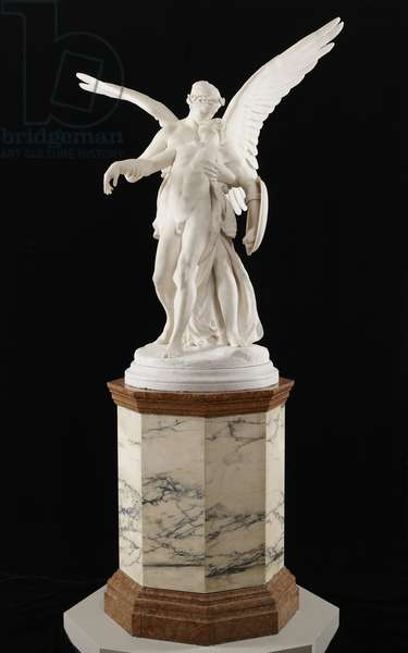 Kiss of Victory, 1878–81 (marble & wood)