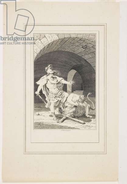 Vignette from the Metamorphoses of Ovid (etching & engraving)