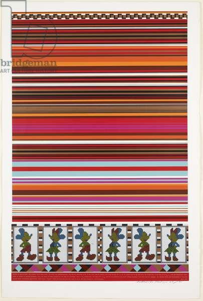 Horizon of Expectations, from Universal Electronic Vacuum portfolio, 1967 (screenprint)