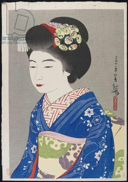 The Geisha Hinazo_, 1922