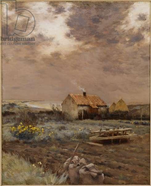 Landscape, c.1880 (oil on canvas)