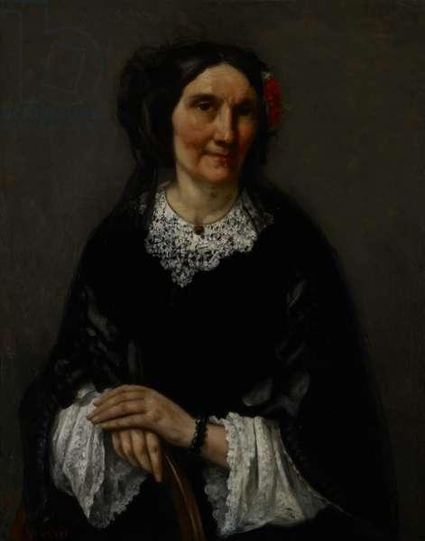 Portrait of Anika Psalmon, Mrs. Robin, 1862 (oil on canvas)