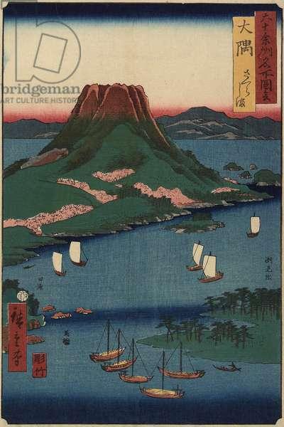 Sakurajima Volcanic Island, O_sumi Province, March 1856