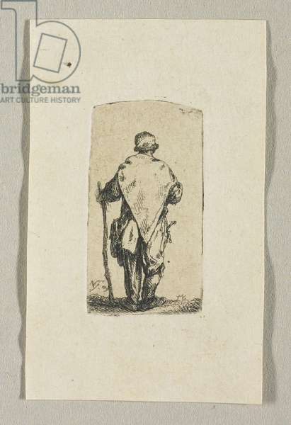 Standing Man Wearing a White Cloth, 1779
