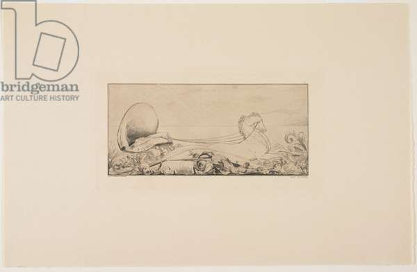 Triumph, 1881 (etching)