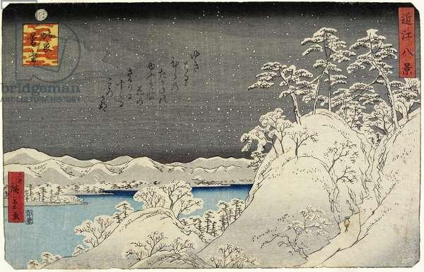 Evening Snow on Mount Hira, January 1859