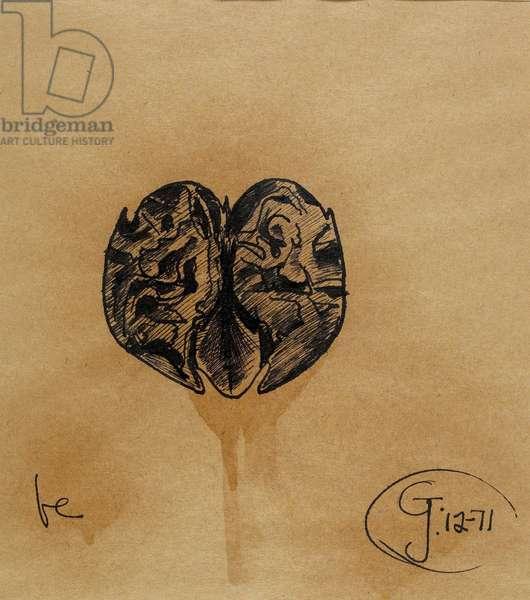 Be, 1971 (pen & ink)