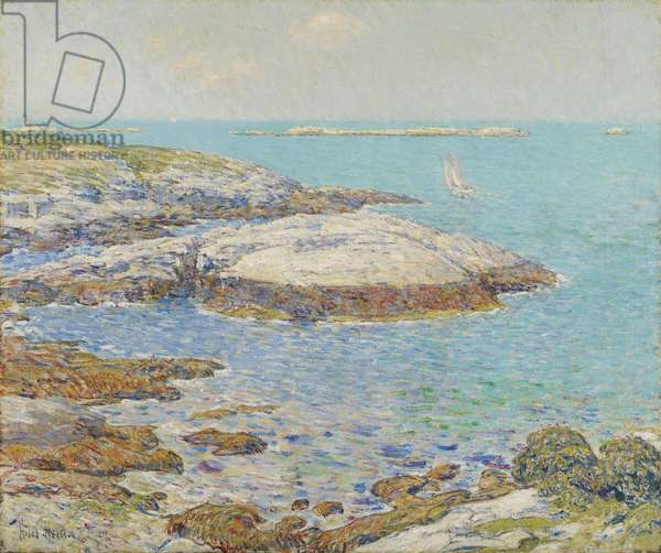 Isles of Shoals, 1899 (oil on canvas)