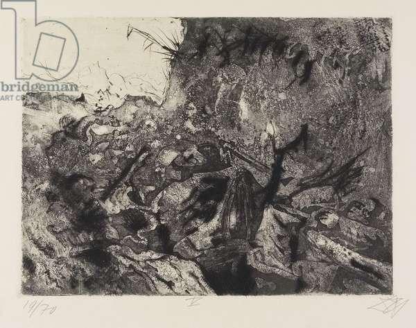 Verlassene Stellung bei Vis-en-Artois (Abandoned Position near Vis-en-Artois), plate 15 from Der Krieg (The War), 1924