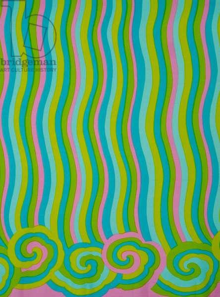Oriental Stripe, 1966 (nylon)