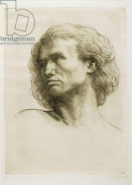 Head of a Model, 1877