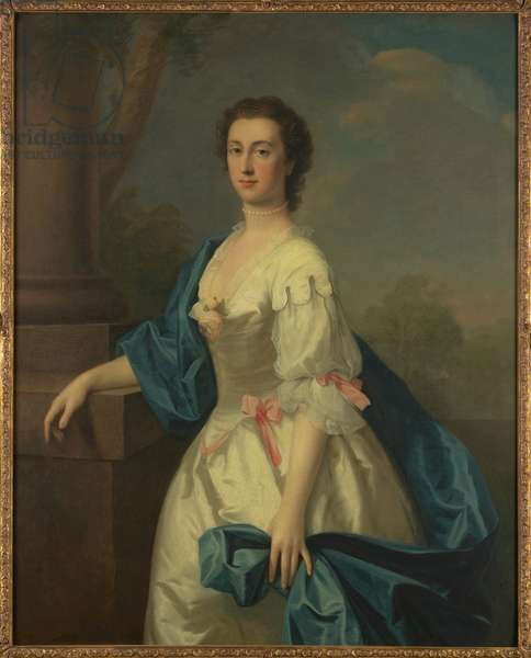 Portrait of a Lady, c.1744 (oil on canvas)