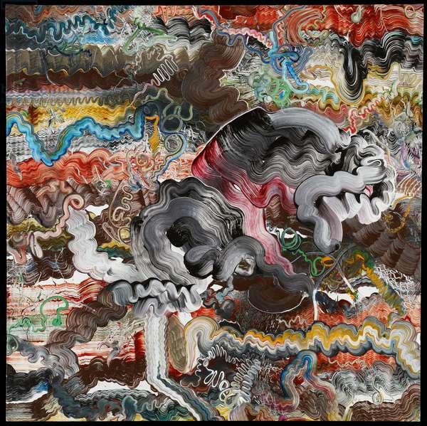Untitled, 1974 (acrylic on canvas)