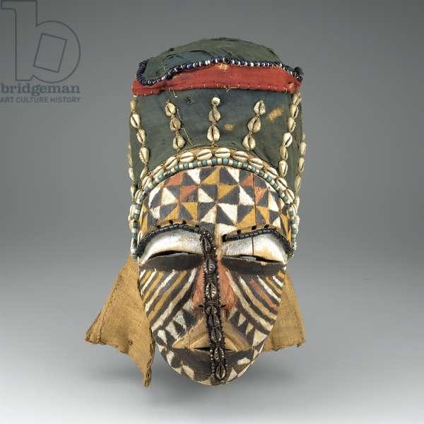 Ngady Mwaash Mask, Bushoong Culture (mixed media)
