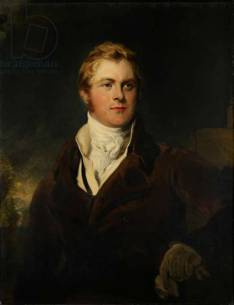 Portrait of Frederick John Robinson, First Earl of Ripon, c.1820 (oil on canvas)