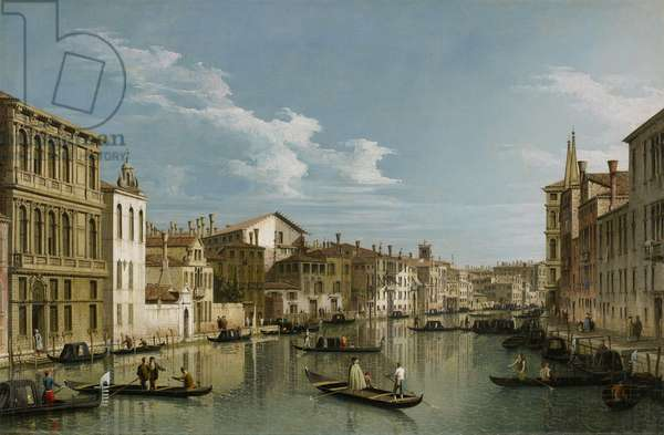 Grand Canal from Palazzo Flangini to Palazzo Bembo, c.1740 (oil on canvas)