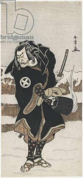 O_tani Hiroeman III as Asahara Jiro_, 1778