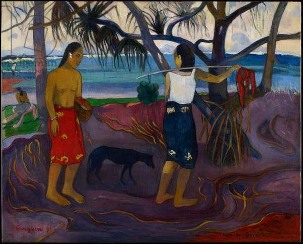 Under the Pandanus, 1891 (oil on canvas)