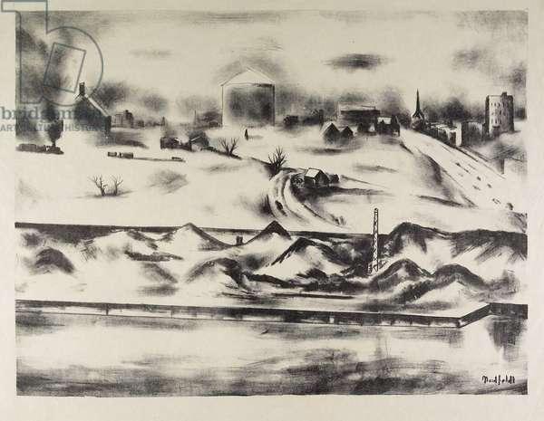 Minneapolis (Coal Docks Near the University of Minnesota)