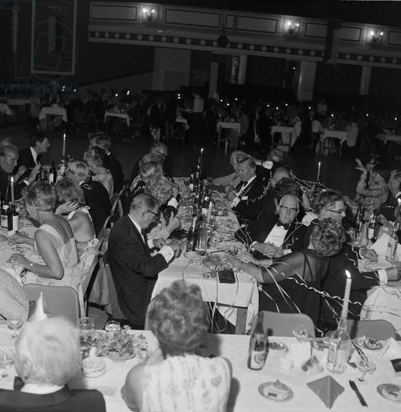 Queen's Silver Jubilee Ball, Villa Marina, August 1977 (b/w photo)