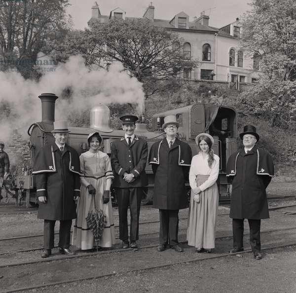 Douglas Railway Station, June 1969 (b/w photo)