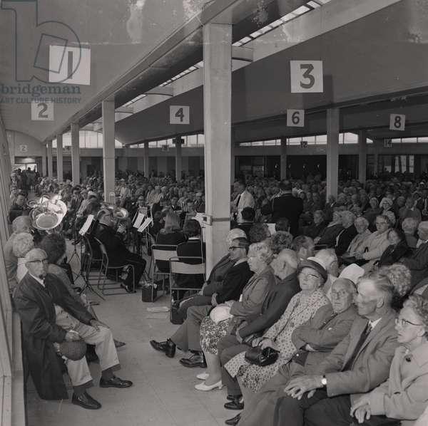 Douglas Band, Sea Terminal, June 1968 (b/w photo)
