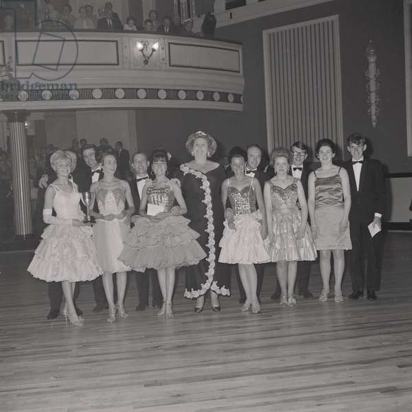 Modern Dance contests, Villa Marina, May 1967 (b/w photo)