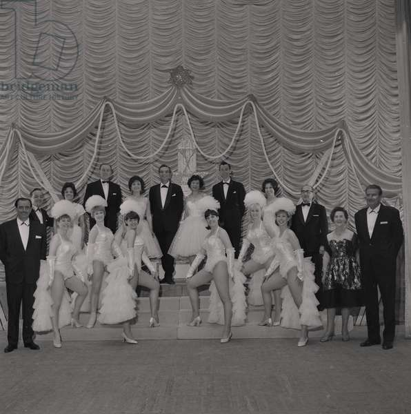 Stella Hartley Holiday Show Time at the Gaiety Theatre, June 1965 (b/w photo)