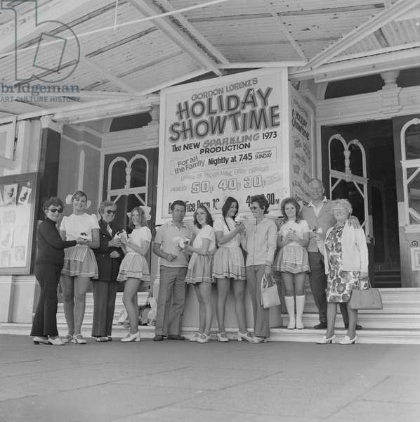 Holiday Show Time, Gaiety Theatre, June 1973 (b/w photo)