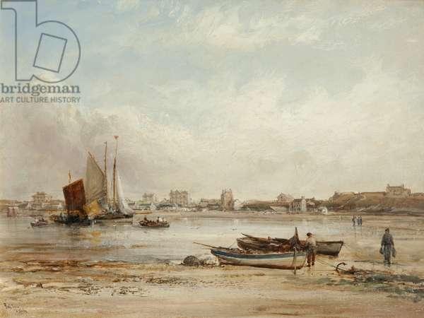 Port Erin (oil on canvas)