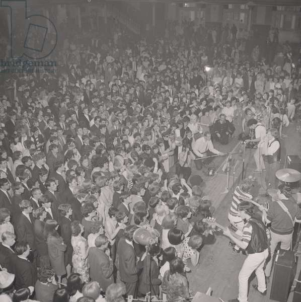 Beat Festival at the Palace, September 1965 (b/w photo)