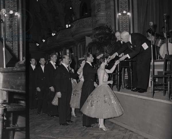 Dance Championships, Palace, June 1959 (b/w photo)