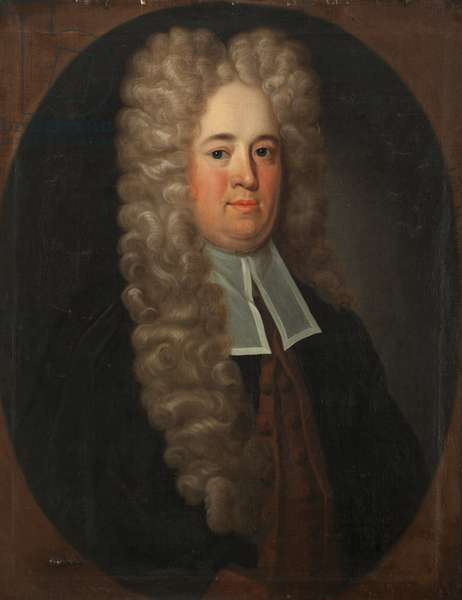 Member of the Christian family of Milntown, possibly John Christian (oil on canvas)