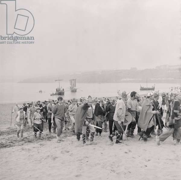 Peel Viking Festival, July 1964 (b/w photo)
