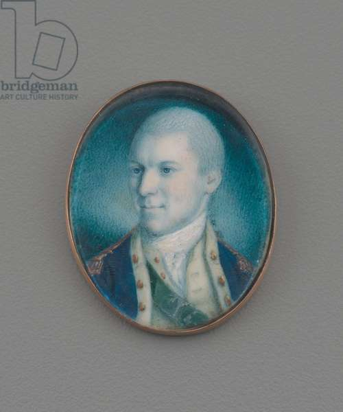 Lieutenant-Colonel Alexander Hamilton, 1777 (w/c on ivory)